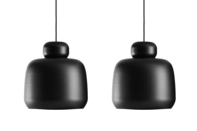 WOUD - STONE PENDANT LAMP - SET OF 2