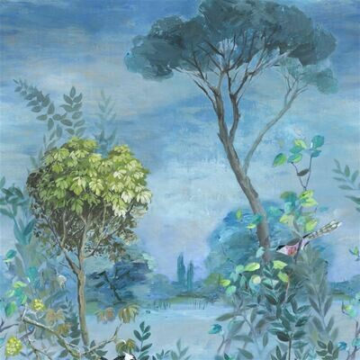 DESIGNERS GUILD - Giardino Segreto Panoramic Wallpaper
