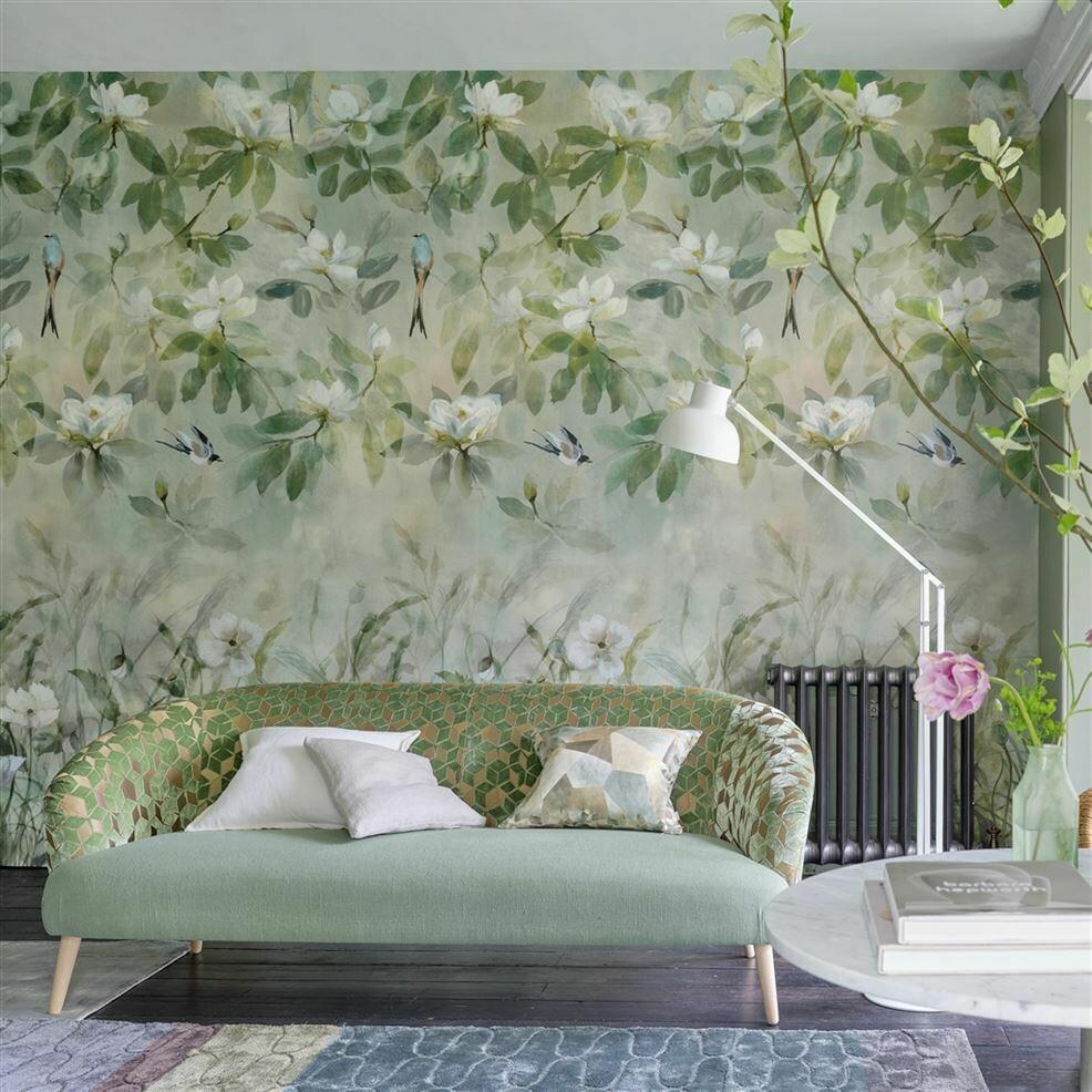 DESIGNERS GUILD - Kiyosumi Celadon Panoramic Wallpaper