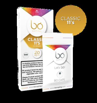 Bo Caps Boite de 2 Classic 11's 20 Mg Salt Nic