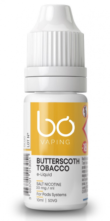 Butterscotch Tobacco sel de nicotine