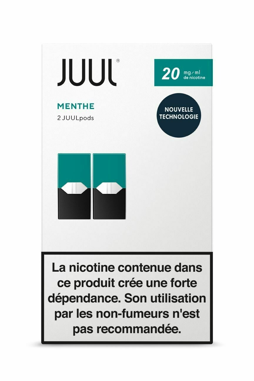 JUUL Pods Menthe 20mg/mL