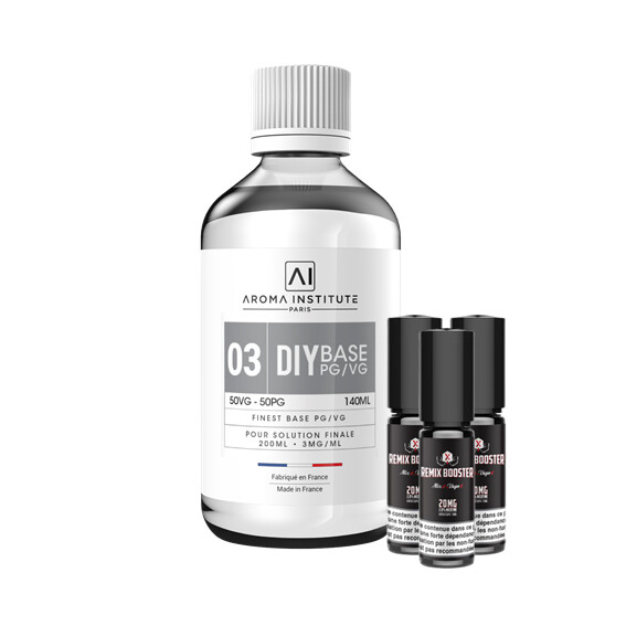 Pack DIY 03 Mg Sels de Nicotine Aroma Institute