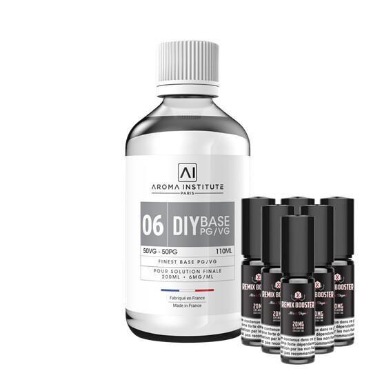Pack DIY 06 Mg Sels de Nicotine Aroma Institute