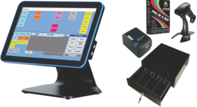 """4POS 15"""" All-in-1 Touch Solution"""