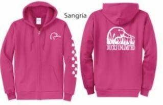 Zip Up - Sangria/Pink