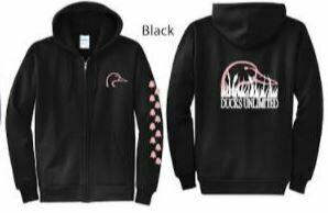 Zip Up - Black/Pink