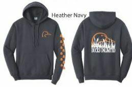 Pull Over - Heather Navy/Orange