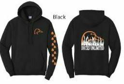 Pull Over - Black/Orange
