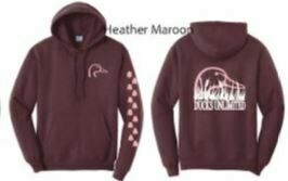 Pull Over - Heather Maroon/Pink