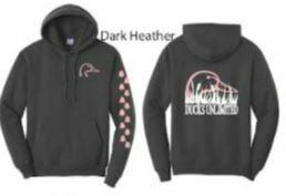 Pull Over - Dark Heather/Pink