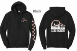 Pull Over - Black/Pink