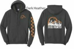Pull Over - Dark Heather/Orange