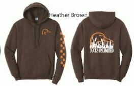 Pull Over - Heather Brown/Orange