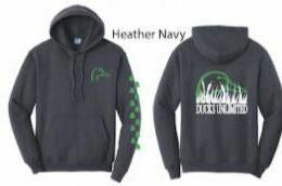 Pull Over - Heather Navy/Green