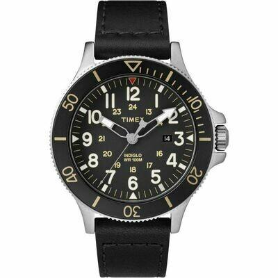 Timex Allied Coastline Negro con Gris