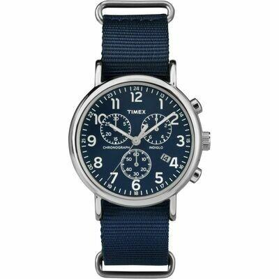 Timex Weekender Chronograph Azul