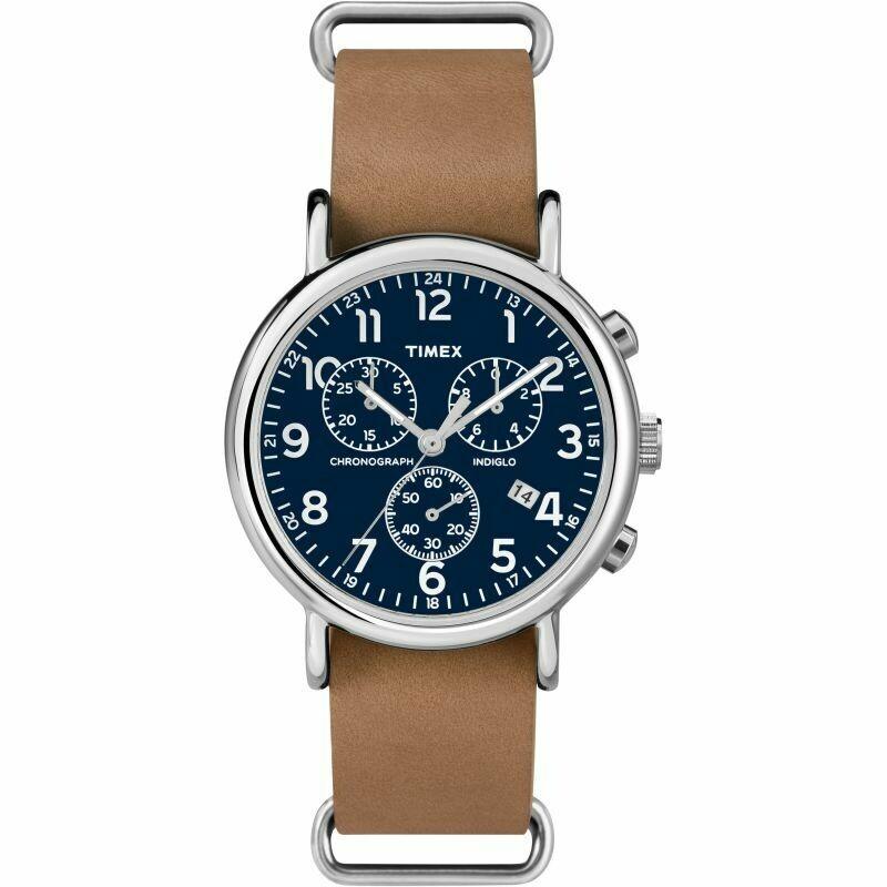 Timex Weekender Chronograph Watch Café