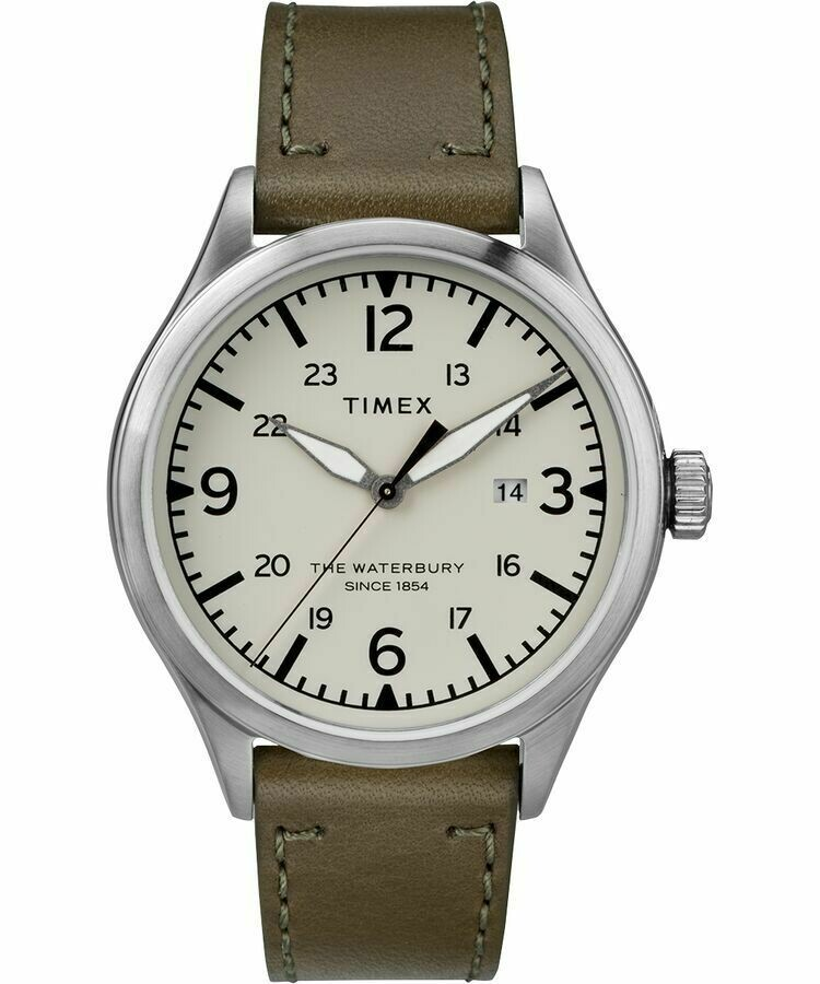 Timex The Waterbury Quartz Movement Cream