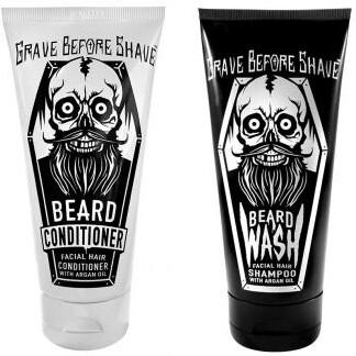 Grave Before Shave Wash / Conditioner 2er Pack