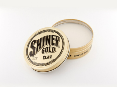 """SHINER GOLD Haarpomade """"Clay"""""""