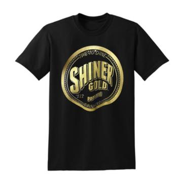 SHINER GOLD T-Shirt mit Logo