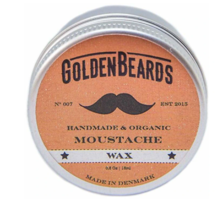 Golden Beard MOUSTACHE WAX - MEDIUM HOLD