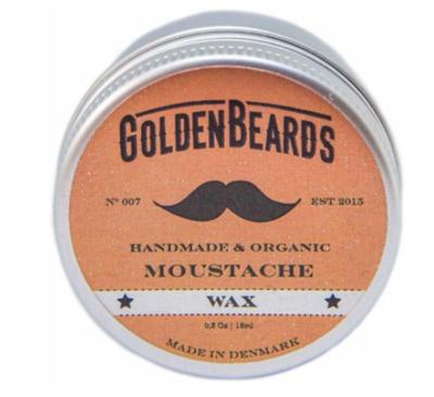 Golden Beards MOUSTACHE WAX - MEDIUM HOLD