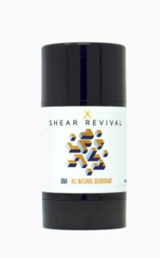 Shear Revival Natural Deodorant