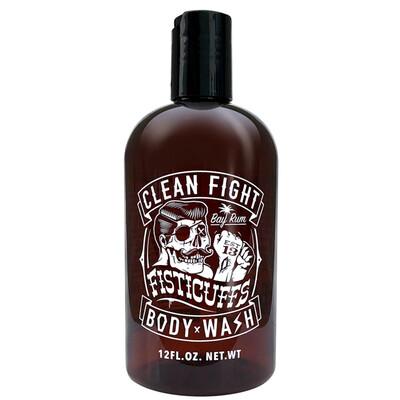 Fisticuffs Bay Rum Body Wash 12 oz. Bottle