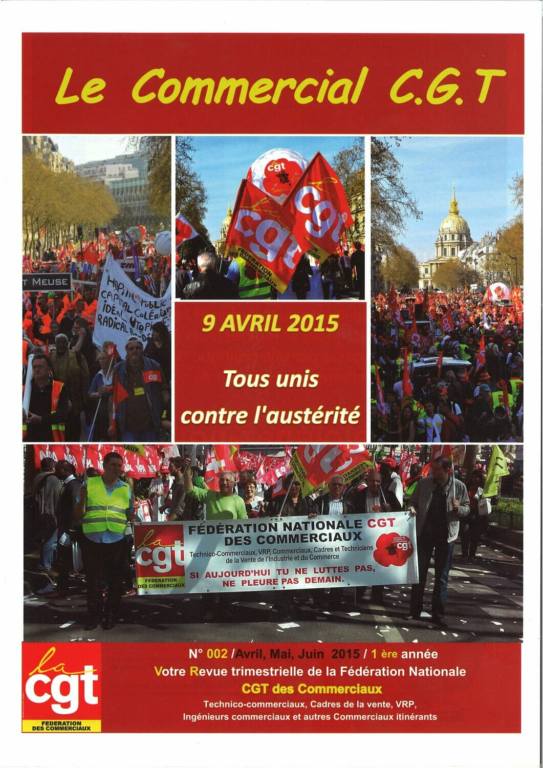 LE COMMERCIAL CGT N° 2