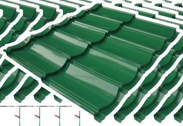 multi color classic hijau 2X5 tebal tct 0,40 mm