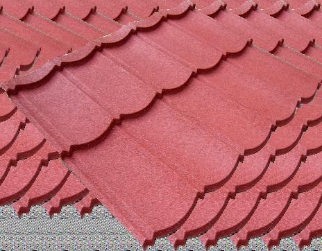 multi classic stone warna pretty maron 2x5 tebal tct 0,40 mm