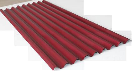Spandek motif petak type LEOPARD  warna maron panjang sesuai pesanan tebal tct 0,30 mm