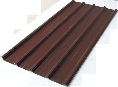Spandek motif puma warna coklat, panjang sesuai pesanan. tebal tct 0,25mm