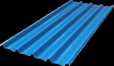 Spandek motif citah warna biru, panjang sesuai pesanan. tebal tct 0,30mm