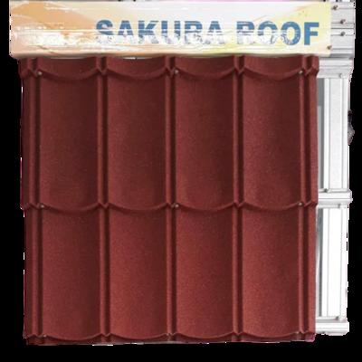 Sakura classic stone warna pretty maron 2x4 tebal tct 0,30mm