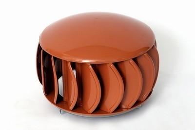 Extractor eólico de policarbonato modelo supavent en varios colores