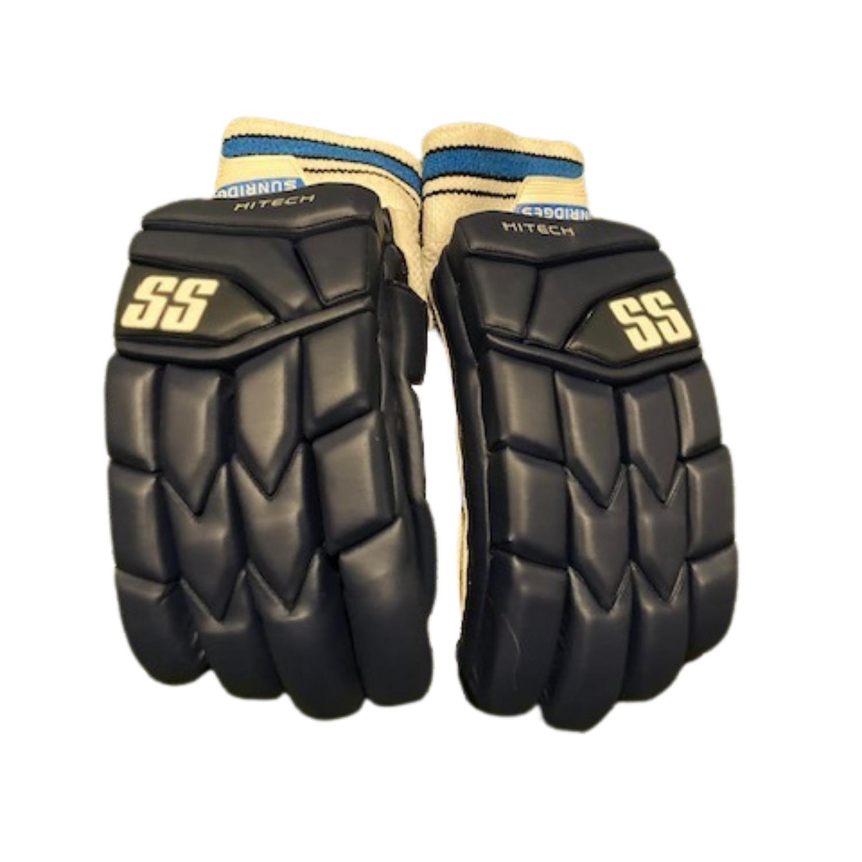 SS High Tech Batting Gloves - Navy
