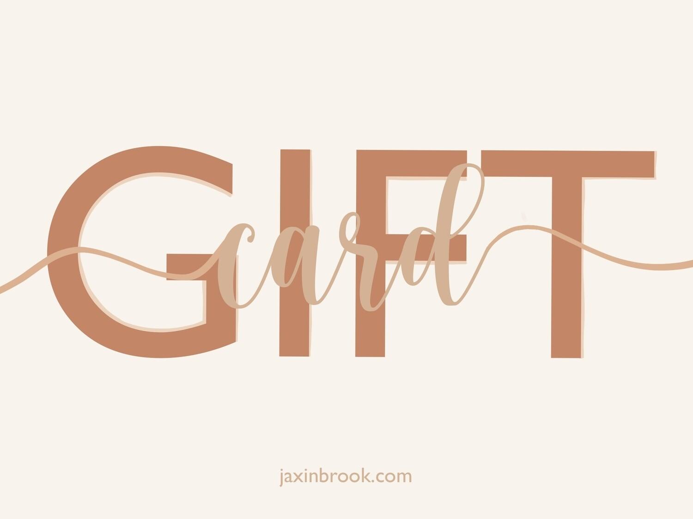 Gift card ~
