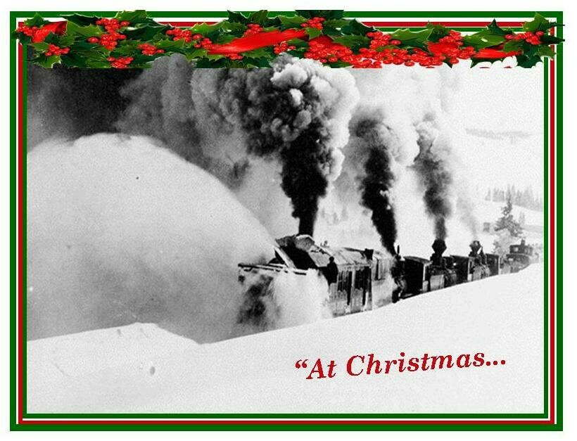 Florence Historical Archive Christmas Cards 2019 - Pushing Snow Package of 8 cards