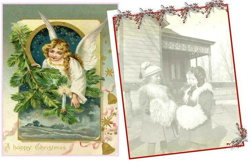 Florence Historical Archive Christmas Cards 2020 - Combinations Package of 8 cards