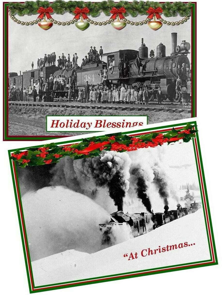 Florence Historical Archive Christmas Cards 2019 - Combinations Package of 8 cards
