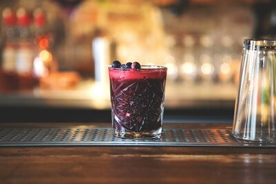 Blackberry Cherry Amaretto Sour