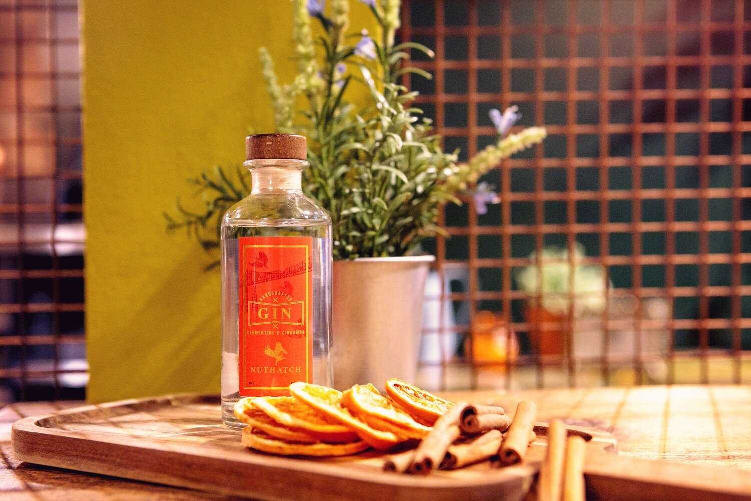 Nuthatch Clementine & Cinammon Gin 20cl