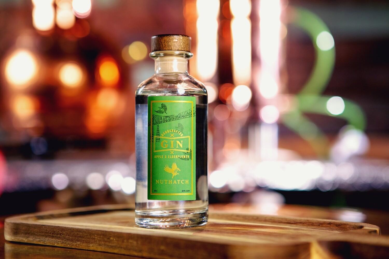 Nuthatch Apple & Elderflower Gin 20cl