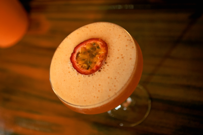 Passionfruit MOCKTINI