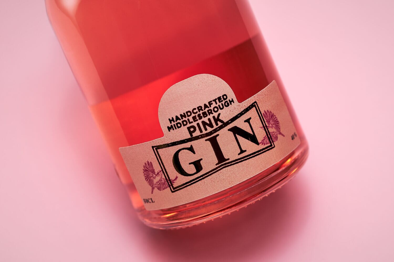 Nuthatch Pink Gin 2cl & Mixer