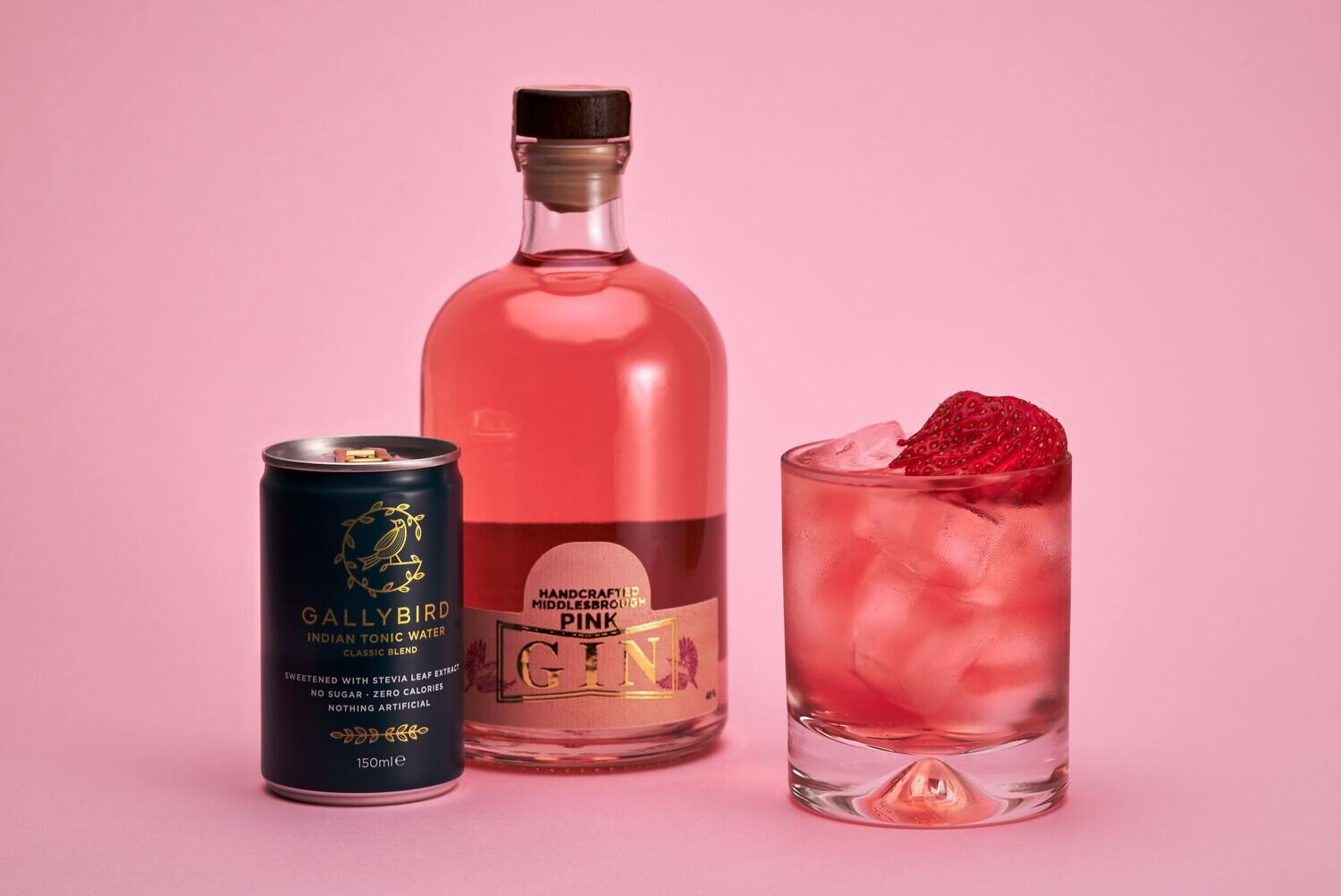 Nuthatch Pink Gin 50cl
