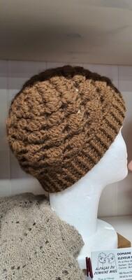 Bonnet tricoté mains